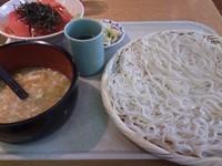 「小セット+まぐろ漬け丼(1,000円)」@七蔵の写真