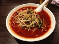 「炎の担々麺」@京都拉麵 信長 木屋町店の写真