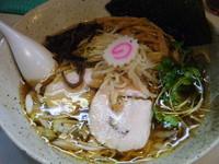 「醤油らぁ麺(海老油)700円」@桜台らぁ麺 美志満の写真