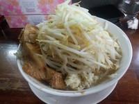 「ラーメン 野菜増ニンニク680円」@ラーメン 龍郎の写真