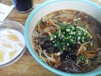 「ボイジャーセット(豚肉と野菜のあんかけ麺、ほか)¥1450」@China Voyagerの写真