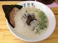 「黒豚ラーメン (700円)」@金田家 さくら亭の写真