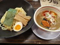 「辛つけ麺」@つけ麺 きらりの写真