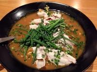 「かれー麺並盛(750円)」@かれー麺 実之和 西川口店の写真