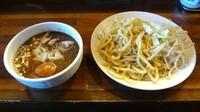 「特つけそば(900円)麺多め野菜」@麺 池谷精肉店の写真