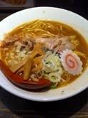 「中華そば」@つけ麺専門店 三田製麺所 なんば店の写真