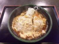 「カツ煮そば」@ゆで太郎 習志野大久保店の写真