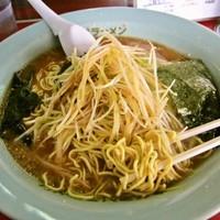 「ネギミソラーメン(麺カタ)+中盛 850円」@ラーメンショップ 前ヶ崎店の写真