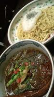 「黒坦々つけ麺890円」@熱烈タンタン麺 五味五香の写真