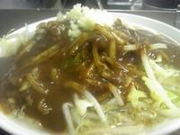 「カレー 麺少なめ、にんにく 900円」@凛 大井町店の写真