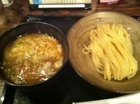 「つけ麺 小 ひやもり」@三ツ矢堂製麺 深谷花園店の写真