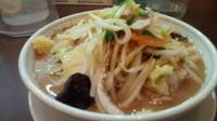 「毎日野菜味噌たんめん(ニンニク・麺硬め)750円」@たんめん専門店 百菜の写真