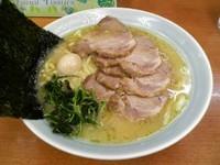 「醤油チャーシューメン中盛り(麺硬め)950円」@壱七家 厚木店の写真