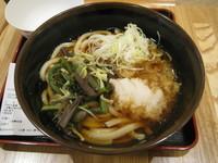 「山菜うどん:490円」@石龍の写真