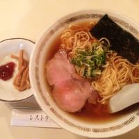 「ラーメン(醤油味)500円」@あさくさ食堂の写真