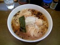 「醤油味玉ラーメン 大盛り」@麺処那奈の写真