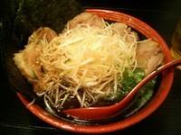 「のりネギチャーシューめん(麺硬めマー油入り)1000円」@ら〜めん村田屋の写真