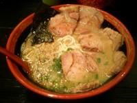 「チャーシューめん(麺バリカタ)850円」@ら〜めん村田屋の写真
