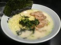 「塩チャーシューメン大盛り(麺硬め)1000円」@壱七家 厚木店の写真