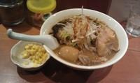 「さく味噌ラーメン+八丁味噌味玉+トッピングコーン」@麺処 しの助の写真