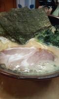 「ラーメン(麺超固め・味濃いめ) [650円]」@濃厚豚骨ラーメン こく丸の写真