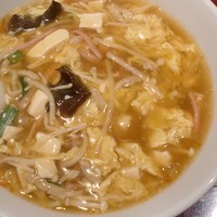 「サンラー麺」@熱烈麺家 いちの写真