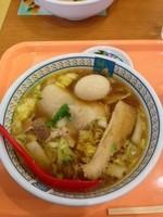 「煮玉子ラーメン」@どうとんぼり神座 イオンモールナゴヤドーム前店の写真