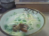 「八重山そば」@明石食堂の写真