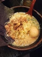 「玉子ネギらーめん(麺硬め)900円」@ら〜めん村田屋の写真