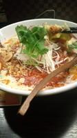 「乾焼坦々麺(12月の限定)890円」@熱烈タンタン麺 五味五香の写真