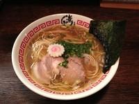 「さらりそば」@東京煮干中華そば 三三㐂 大森の写真