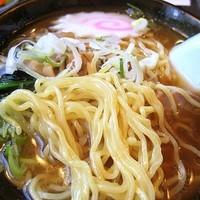 「ミニセット(カツ丼+ラーメン) 800円」@とんかつ おぎの写真