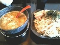 「鶏魚介つけ麺」@しぇからしか かしわ亭の写真