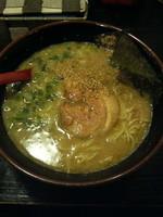 「らーめん(麺バリカタ)600円」@ら〜めん村田屋の写真