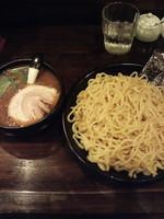 「ポタつけ麺大盛り800円」@海老吟醸 じぱんぐ(ZIPANG) 秦野店の写真