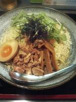 「冷やしごま塩ラーメン900円」@熱血食堂すわの写真