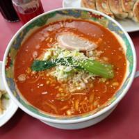 「タンタン麺」@らいらい飯店の写真
