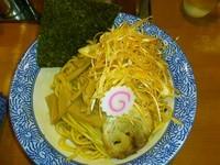 「油ネギそば + 麺大盛り」@ぶぶか 吉祥寺店の写真