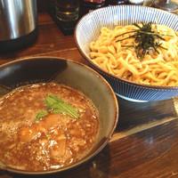「つけ麺(大盛)¥750+無料」@麺屋 やま昇の写真