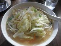 「味噌ラーメン+半炒飯のセット(577円)」@中華料理 谷記 錦糸町南口店の写真