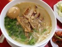 「鳥そば+味付きタマゴ(¥650+¥100)」@担担麺専門店 弘麺 分店の写真