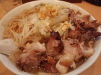 「ド魂麺大(800円)小ブタ(200円)」@魂麺の写真