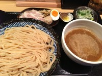 「つけ麺 (750円)」@つけ麺 道の写真