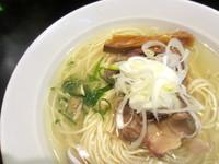 「牛テール塩麹ソバ【限定】」@創麺業 磯部水産の写真