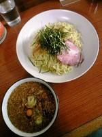 「冷しつけ麺550円」@ラーメン金太郎の写真