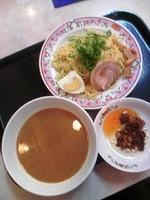 「自家製食べるラー油のつけ麺450円クーポン:通常550円」@餃子の王将 上板橋駅南口店の写真