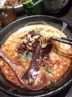 「香鰹坦々麺890円(1月の限定)」@熱烈タンタン麺 五味五香の写真
