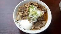 「肉そば+温玉 470円」@南天 本店の写真