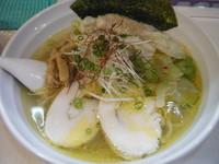 「塩ワンタン麺900円」@桜台らぁ麺 美志満の写真