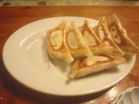 「焼ぎょうざ 380円」@麺や食堂の写真